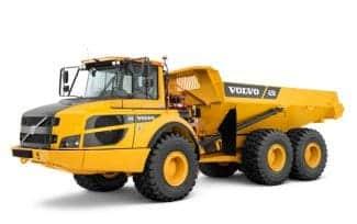 Baumaschinen Volvo Dumper
