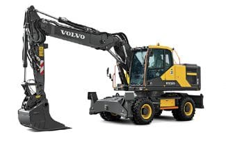Baumaschinen Volvo Mobilbagger