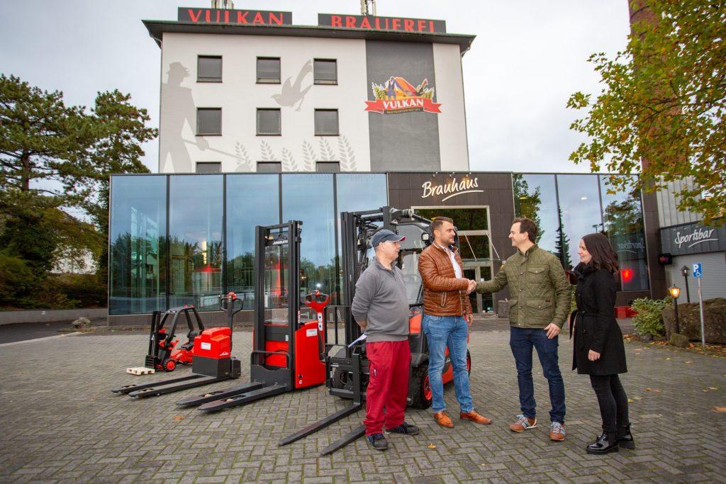 Neue Fahrzeuge für die Vulkan-Brauerei in Mendig 1