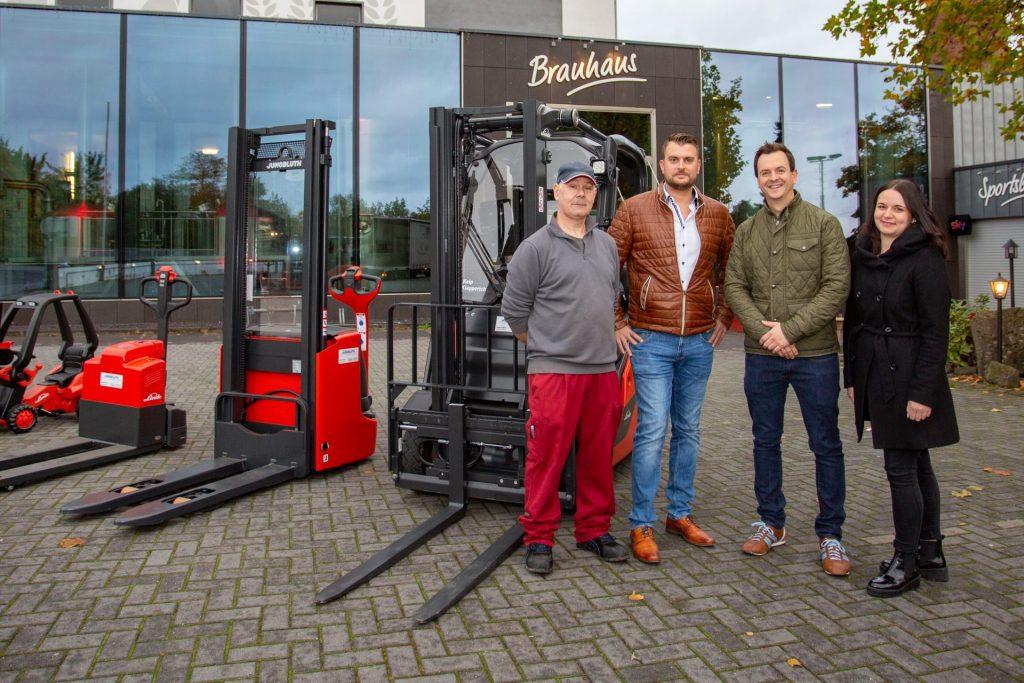 Neue Fahrzeuge für die Vulkan-Brauerei in Mendig