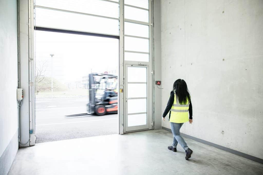 Linde Safety Guard Einsatz