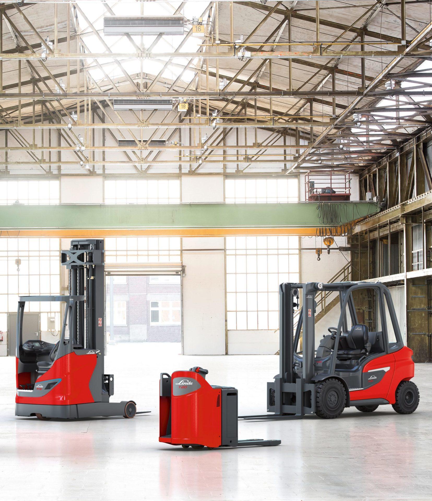 Stapler und Lagertechnik Produktübersicht