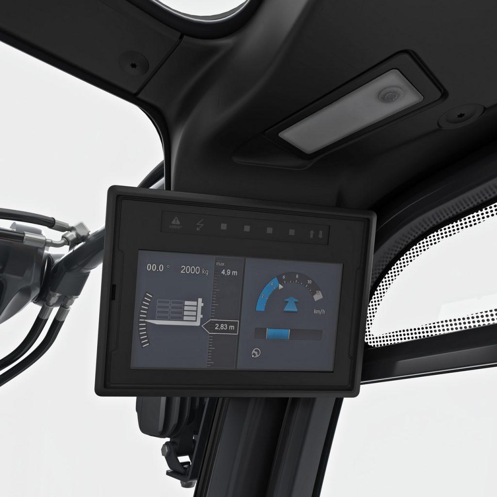 Dieselstapler Display