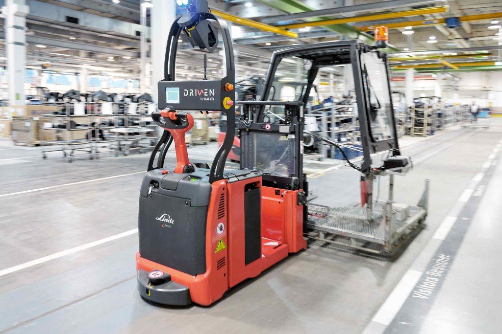 Automatisierung Lagertechnik im Einsatz