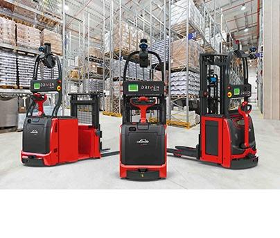 Stapler und Lagertechnik Automatisierte Fahrzeuge
