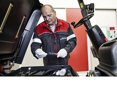 Stapler Service Batterieservice