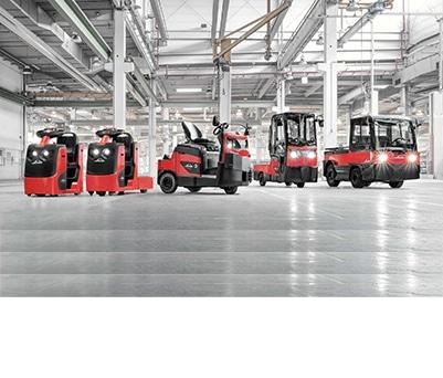 Stapler und Lagertechnik Schlepper- und Plattformwagen