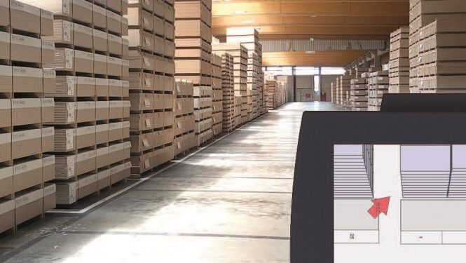 Warehouse Management Systeme - Linde Warehouse Navigator