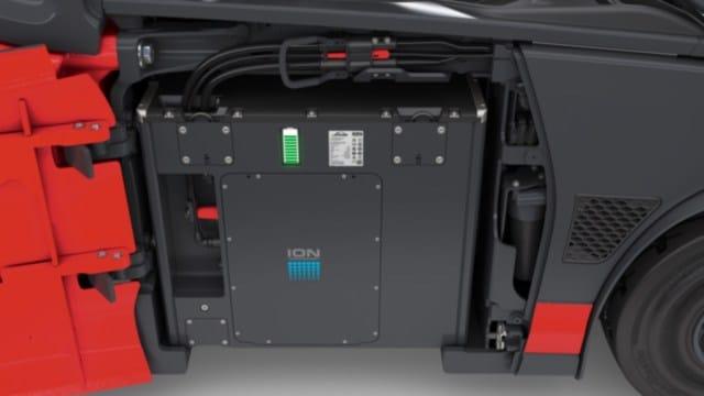 Linde Elektrostapler E20-E35 Batterie