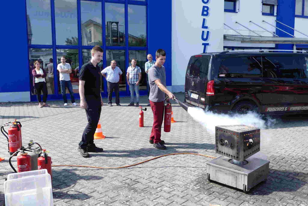 Brandschutzhelfer Ausbildung Praxis
