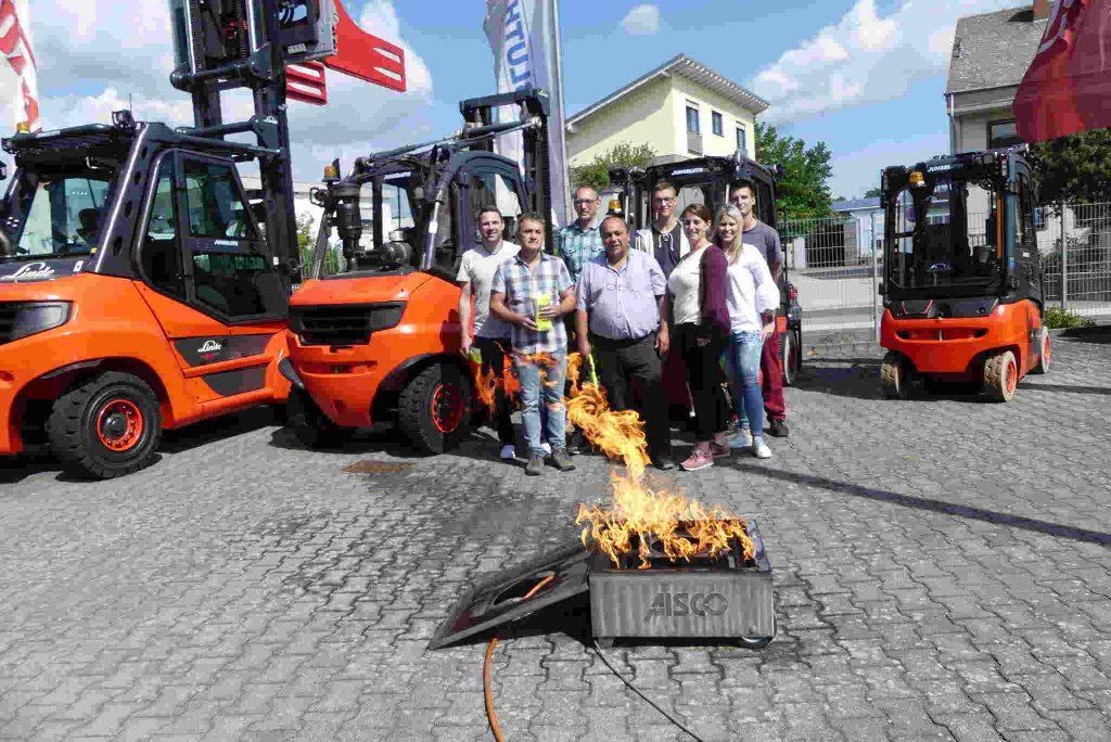 Brandschutzhelferausbildung Praxis